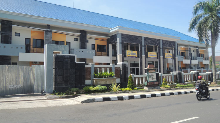 Bangunan baru RSUD Wonosari. KH/ Kandar