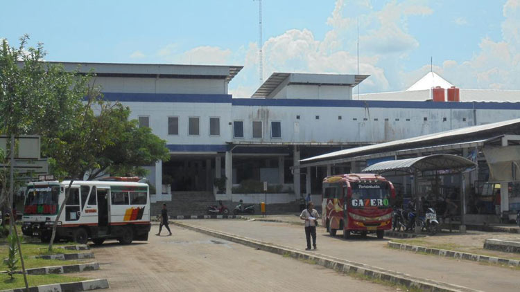 Terminal Dhaksinarga, Wonosari. KH/ Edo