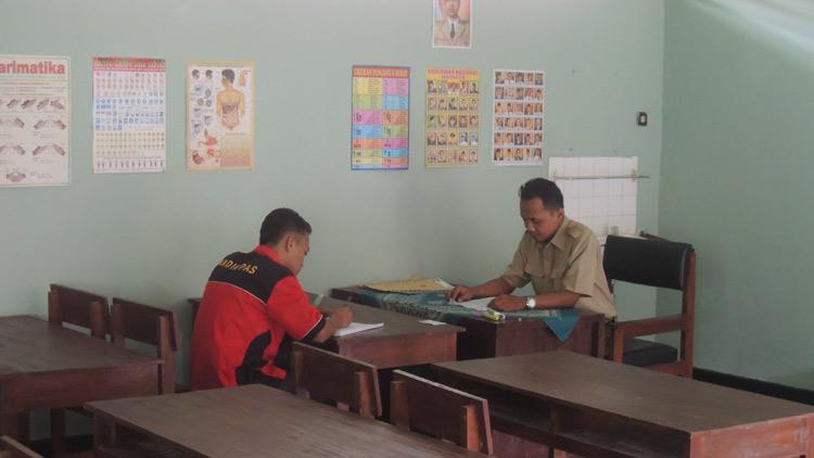 Jun Ujian di Rutan Kelas II B Wonosari. KH/ Kandar