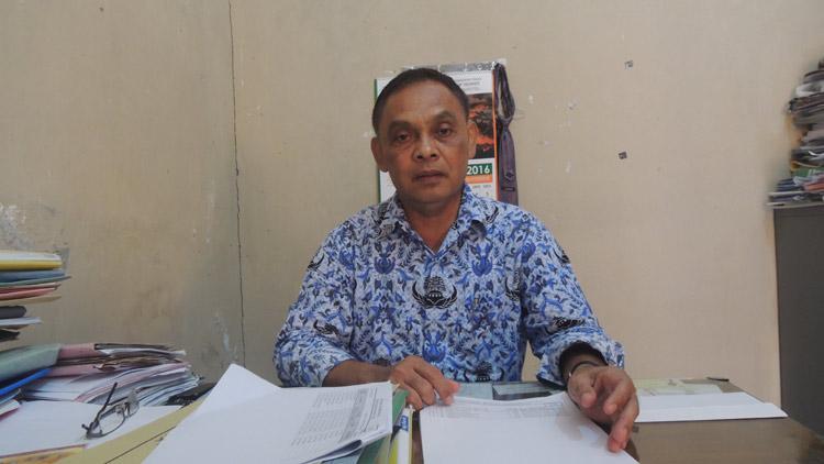 Kepala Bidang Pendidikan Menengah, Disdikpora Gunungkidul, Sukito S.Pd, MM. (KH/ Kandar)