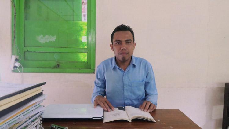 Aisworo Ang, Penulis novel MARS yang diangkat ke layar lebar. KH/ Kandar
