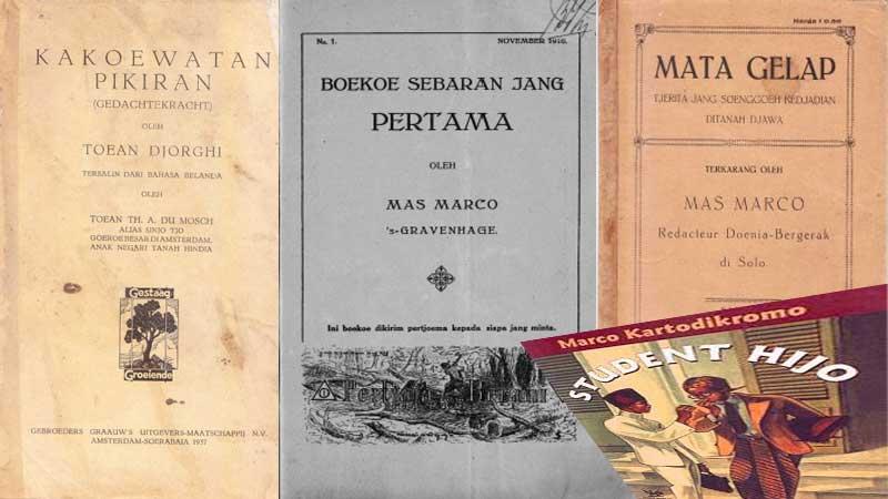 Buku-buku era pergerakan nasional,, melampaui pemikiran pada jamannya. KH/Jjw.