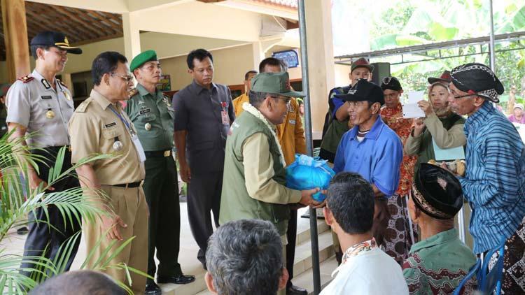 Dokumentasi pelaksanaan lomba Desa Baleharjo. KH
