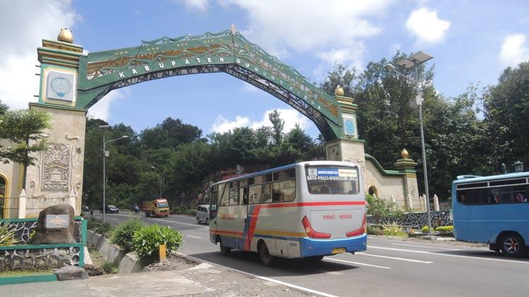 Pintu Gerbang menuju Gunungkidul di Wilayah Patuk. KH/ Kandar.
