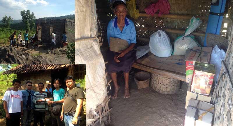 Pegiat keris yang tergabung dalam RSTA adakan bakti sosial di Ponjong. KH/Unggul.