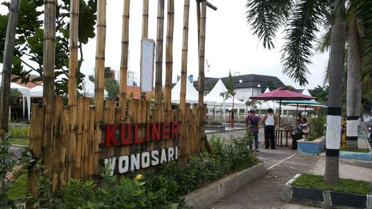 Taman kuliner Wonosari. KH/ Edo