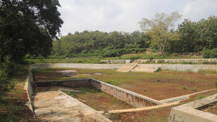 Telaga Njowo di Padukuhan Pakel, Desa Planjan, Kecamatan Saptosari. KH/ Kandar
