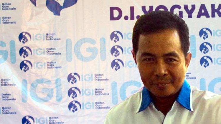 Sugeng Andono, M.Eng, Ketua IGI Yogyakarta. KH