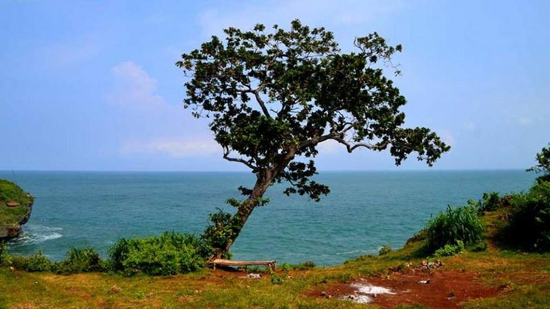 Panorama Pantai Kesirat. KH/Kl