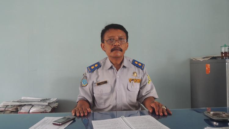 Kasi Informatika Dishubkominfo Gunungkidul, Suprapto. KH/ Kandar.