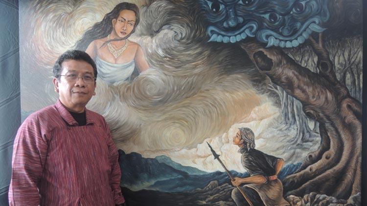 GM Geopark Gunungsewu Unesco, Budi Martono prihatin terhadap Pindul. KH/ Kandar