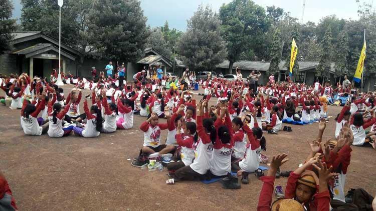 Suasana kegiatan Indonesia Scouts Challenge 2016 di Pusdiklatpur Paliyan. KH