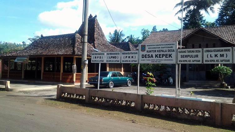 Desa Kepek, Saptosari. doc. Desa Kepek