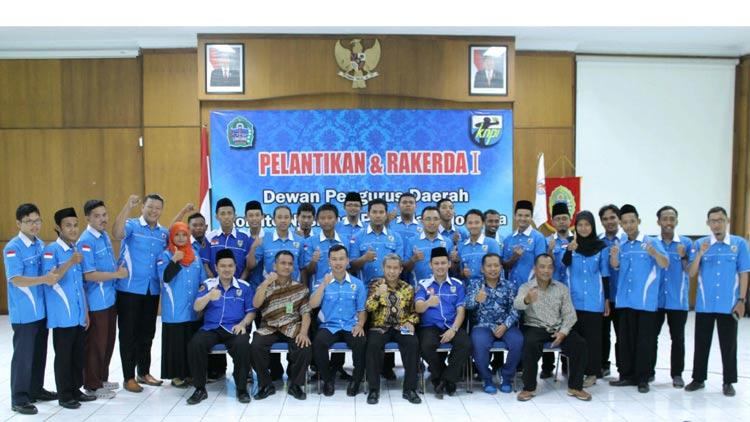Personalia DPD KNPI Gunungkidul masa bhakti 2016-2019.