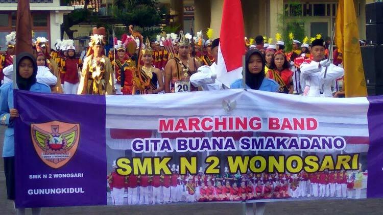 Marching Band SMKN 2 Wonosari, Gita Buana Smakadano. KH