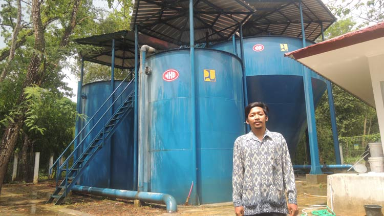 Water Treatment Plant (WTP) di SPAM IKK Bunder. KH/ Kandar