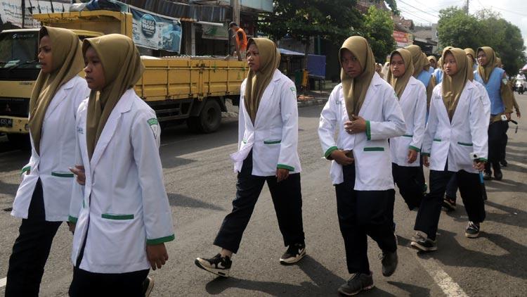 Pawai Ta'aruf AMM Muhammadiyah Gunungkidul. KH/ Kandar