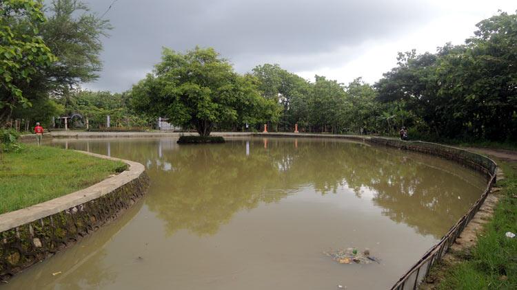 Telaga Budegan, rutin sebagai tempat pemancingan. KH/ Kandar