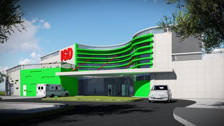 Fasilitas gedung baru yang dibagun RSUD Wonosari. dok: PPID RSUD.