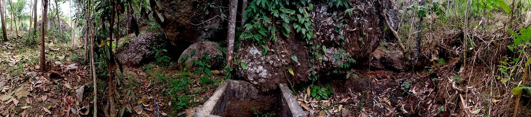 Sumber air di DAS Song Putri.[Foto:NR]