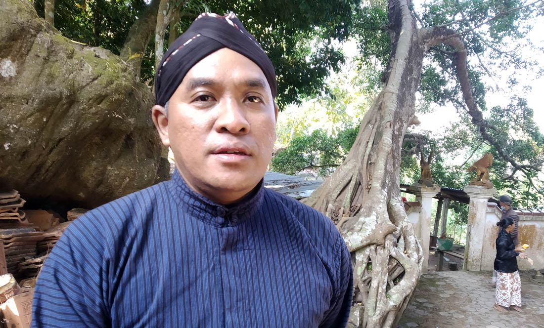 Dedi Susilo, Pendamping Desa Budaya.Foto:NR