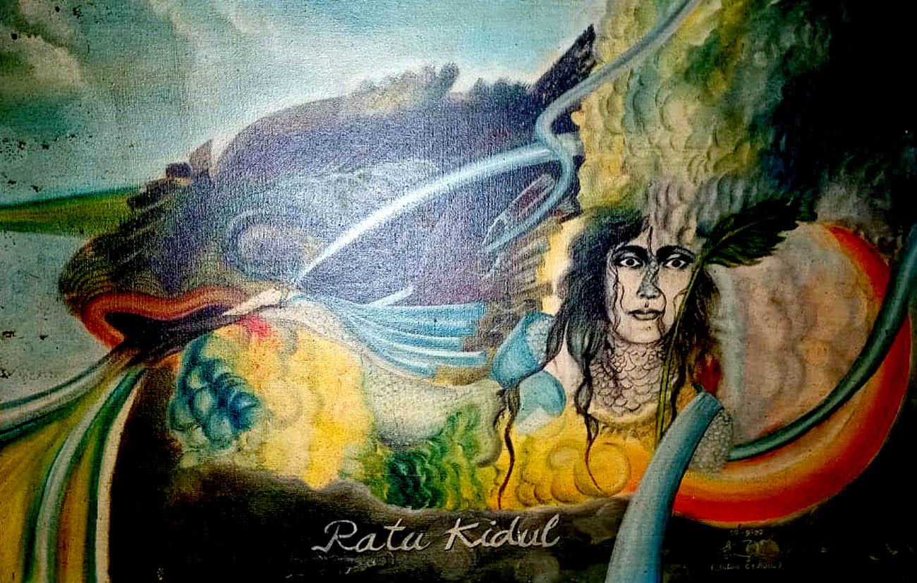 Ratu Kidul; Karya Mistik Intan GS Bono.[Foto:Padmo]