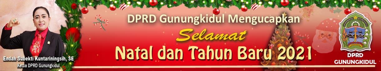 iklan ucapan natal dprd