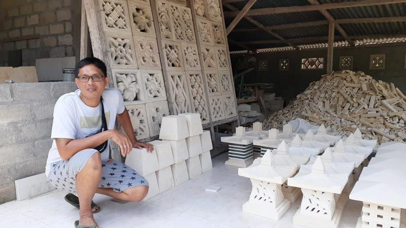kerajinan batu