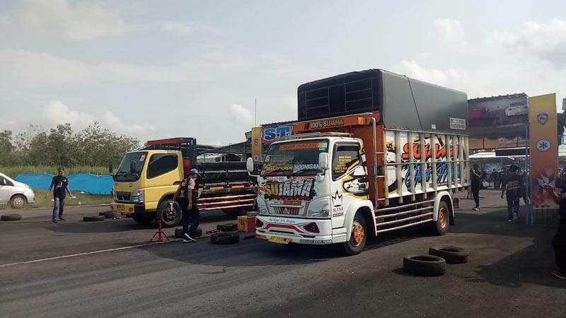 drag race truk